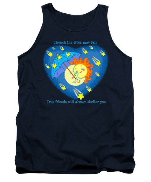 Tank Top featuring the digital art Meteor Shower 3 by J L Meadows