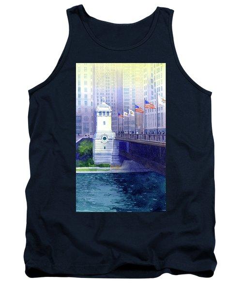 Michigan Avenue Bridge Tank Top