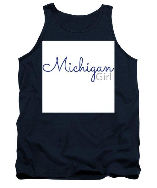 Michigan Girl Tank Top