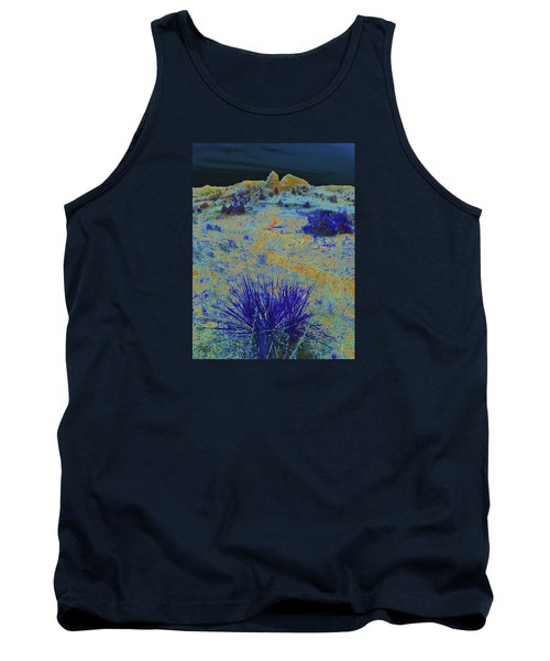 Midnight At The Burning Coal Vein Tank Top
