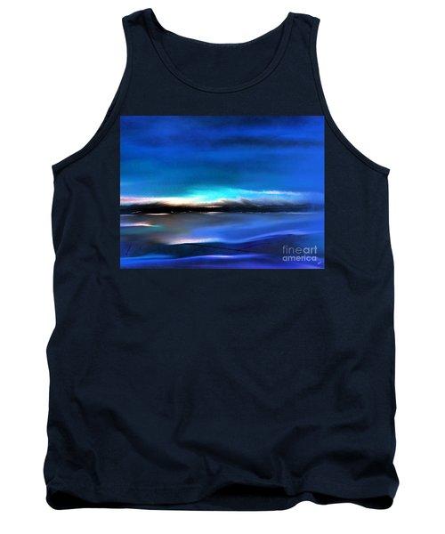 Midnight Blue Tank Top by Yul Olaivar