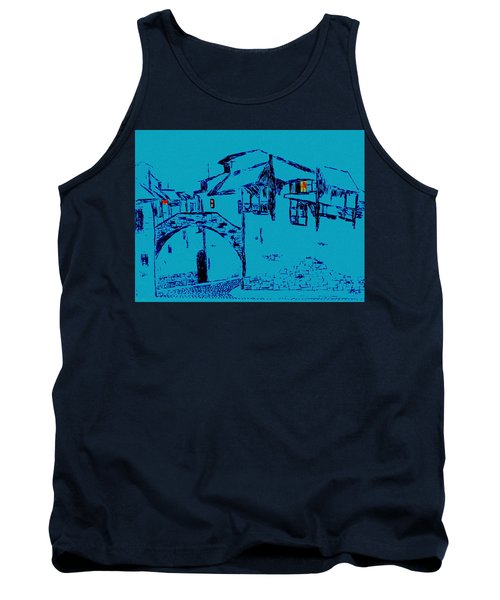 Midnight In Tuscany Tank Top
