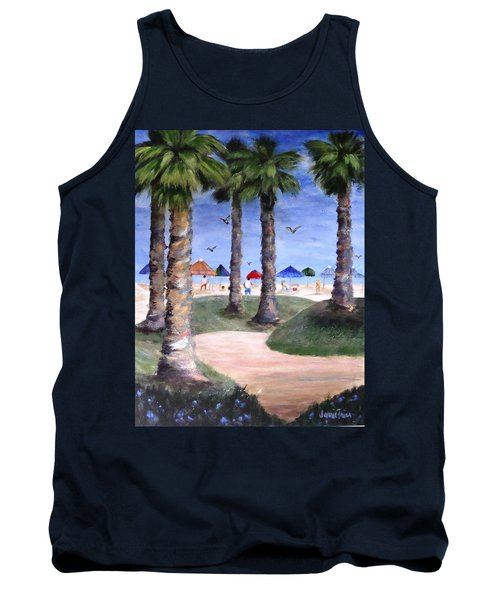 Mike's Hermosa Beach Tank Top by Jamie Frier