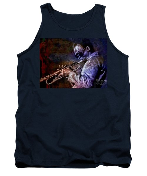 Miles Davis Jazz Legend 1969 Tank Top