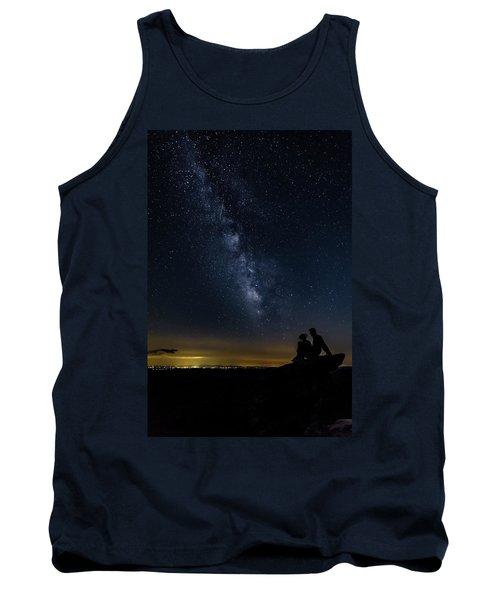 Milky Way Viewed From Rough Ridge Tank Top