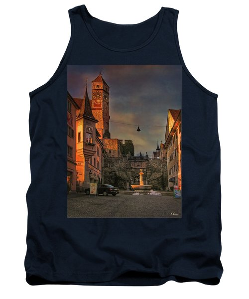 Tank Top featuring the photograph Main Square by Hanny Heim