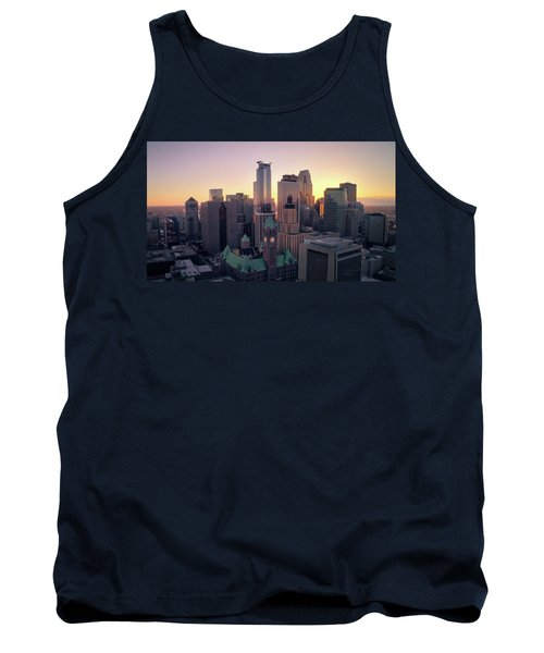Minneapolis At Sunset Tank Top