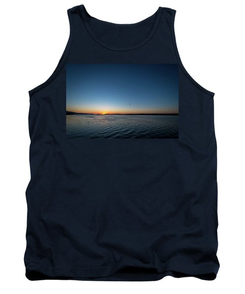 Mississippi River Sunrise Tank Top