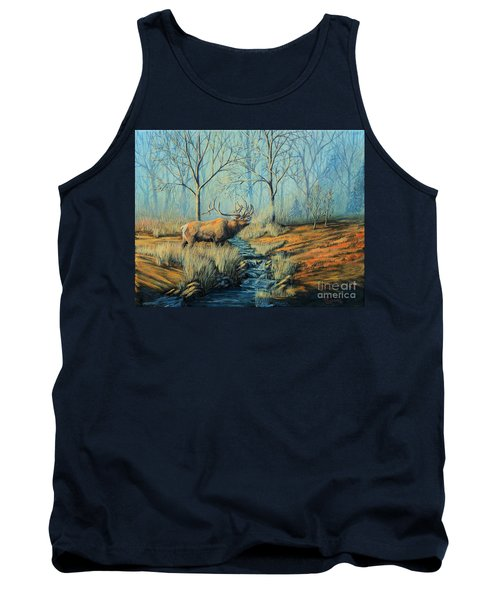 Misty Morning Bugler Tank Top