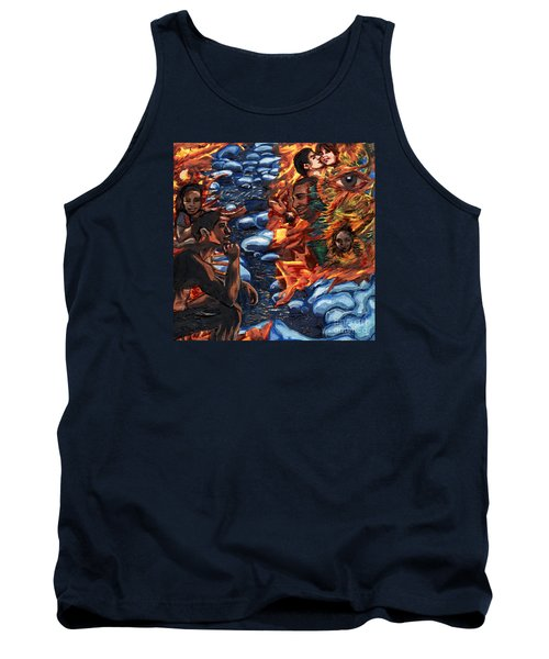 Mitosis Microbiology Landscapes Series Tank Top