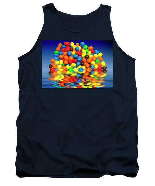 Tank Top featuring the photograph Mm Chocolate Sweets by David French