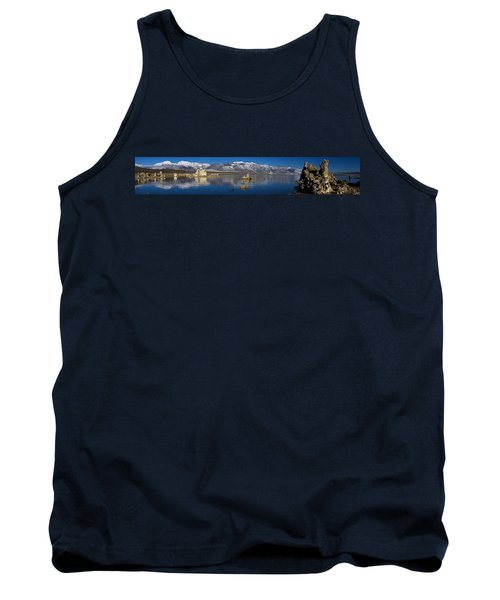 Mono Lake Pano Tank Top by Wes and Dotty Weber