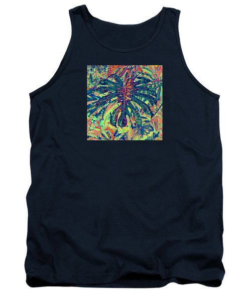 Monstera Leaf Patterns - Square Tank Top