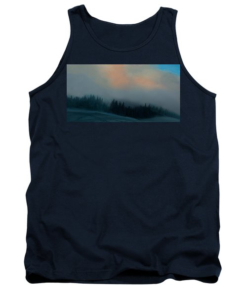 Tank Top featuring the photograph Mont Tremblant Vista by Jim Vance