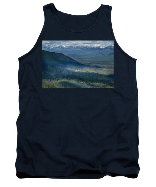 Montana Mountain Vista #3 Tank Top