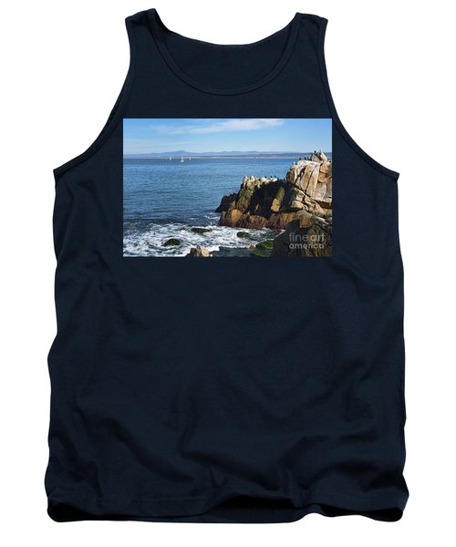 Tank Top featuring the photograph Monterey Bay by Gina Savage