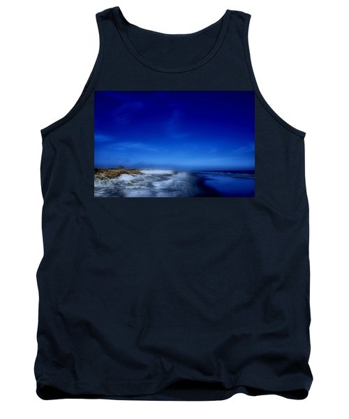 Mood Of A Beach Evening - Jersey Shore Tank Top