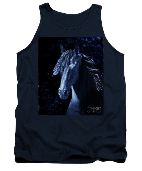 Moody Blues Tank Top by Melinda Hughes-Berland