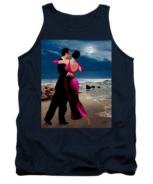 Moonlight Dance V2 Tank Top by Ron Chambers
