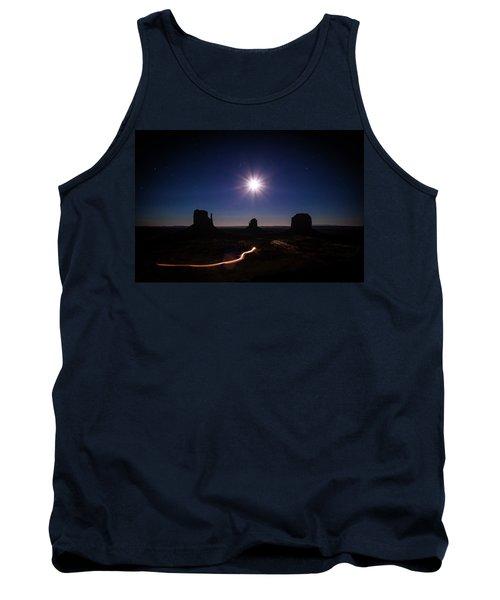 Moonlight Over Valley Tank Top
