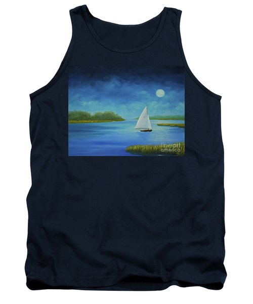 Moonlight Sail Tank Top