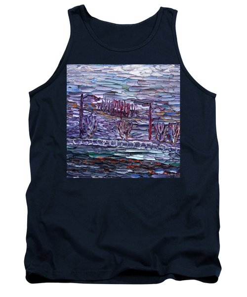 Morning At Sayreville Tank Top by Vadim Levin
