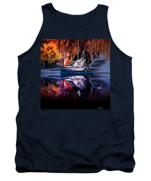 Morning Coffee Tank Top by J Griff Griffin