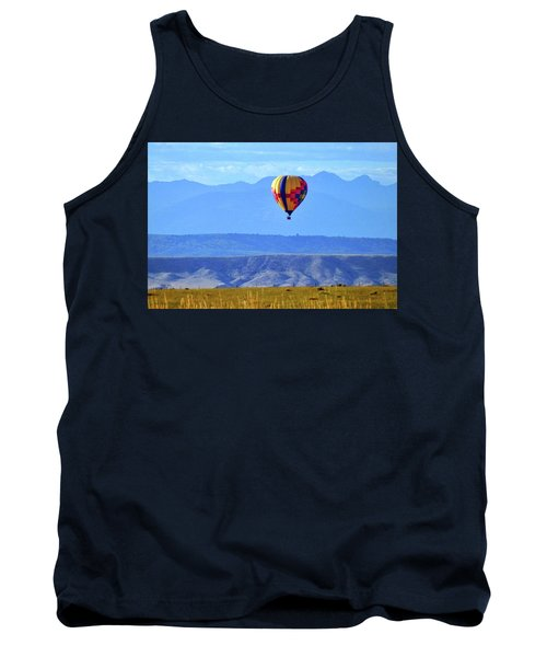 Morning In Montana Tank Top by C Sitton