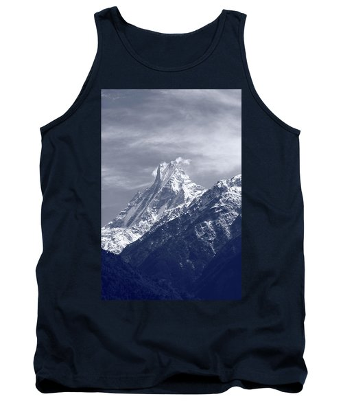 Mount Machapuchare, The Himalayas, Nepal Tank Top