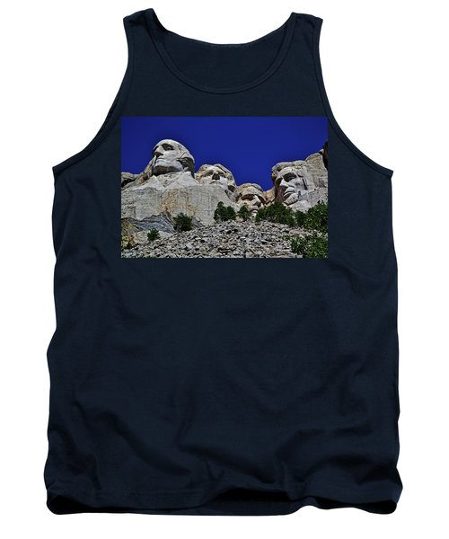 Tank Top featuring the photograph Mount Rushmore 007 by George Bostian
