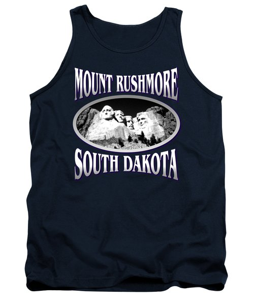 Mount Rushmore South Dakota Design Tank Top