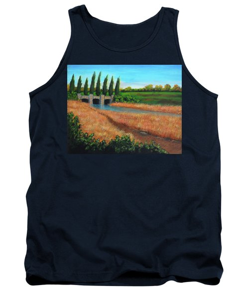 Mountain House In The Fall Tank Top