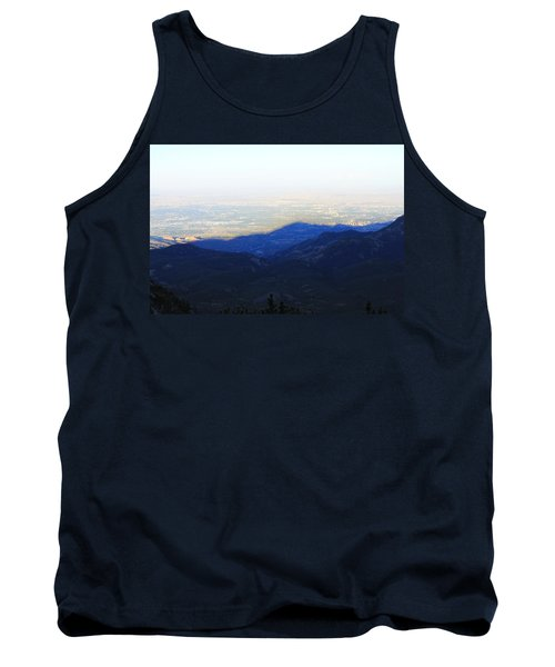 Tank Top featuring the photograph Mountain Shadow by Christin Brodie