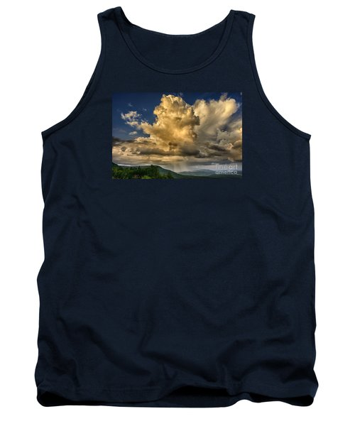 Mountain Shower And Storm Clouds Tank Top by Thomas R Fletcher