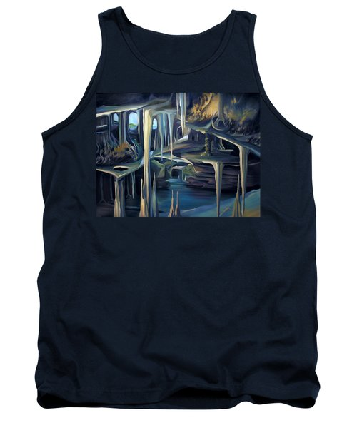 Mural Ice Monks In November Tank Top