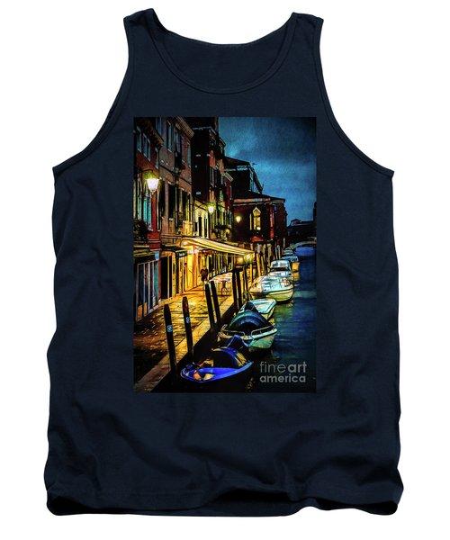 Murano At Night. Tank Top