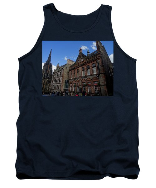 Museo Del Whisky Edimburgo Tank Top by Eduardo Abella