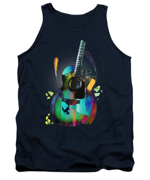 Music In Colour Tank Top
