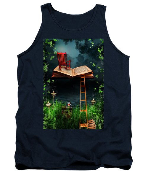 My Book Said Come Fly With Me Tank Top
