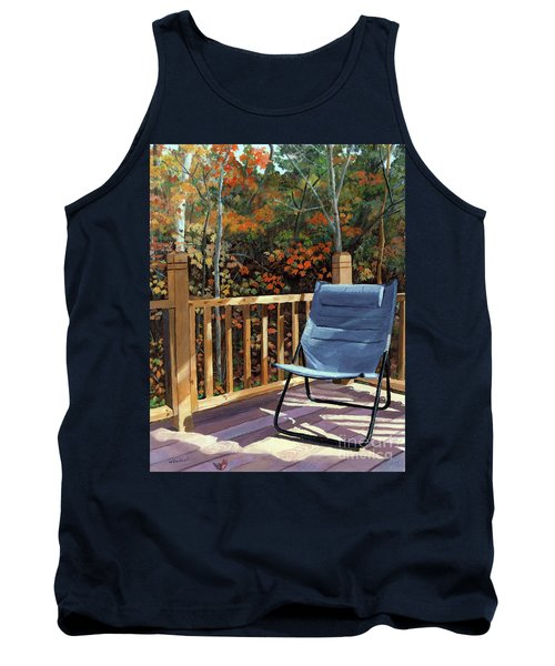 My Favorite Spot Tank Top by Lynne Reichhart