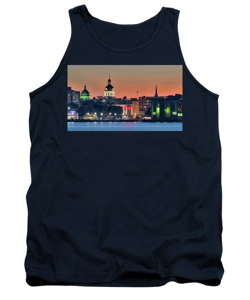 My Home Town At Night... Tank Top