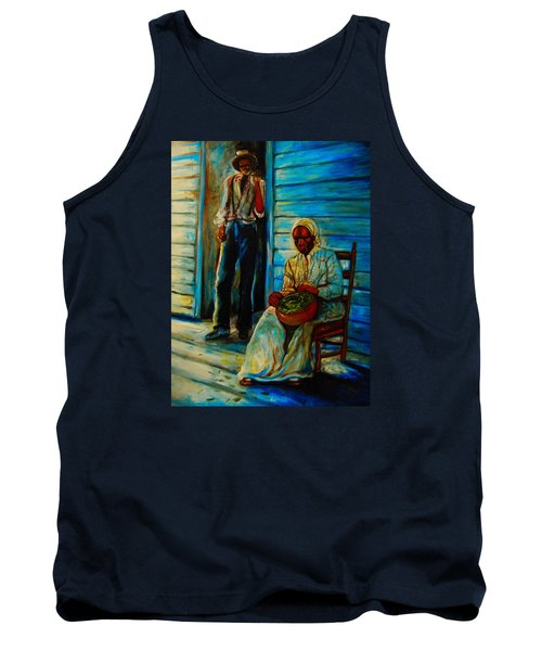 Tank Top featuring the painting My Mom by Emery Franklin