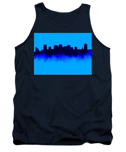 Nashville  Skyline Blue  Tank Top