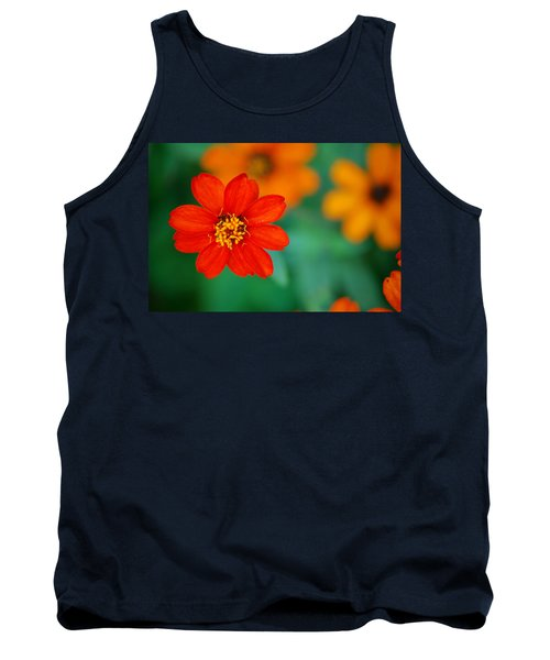 Tank Top featuring the photograph Nature's Glow by Debbie Karnes