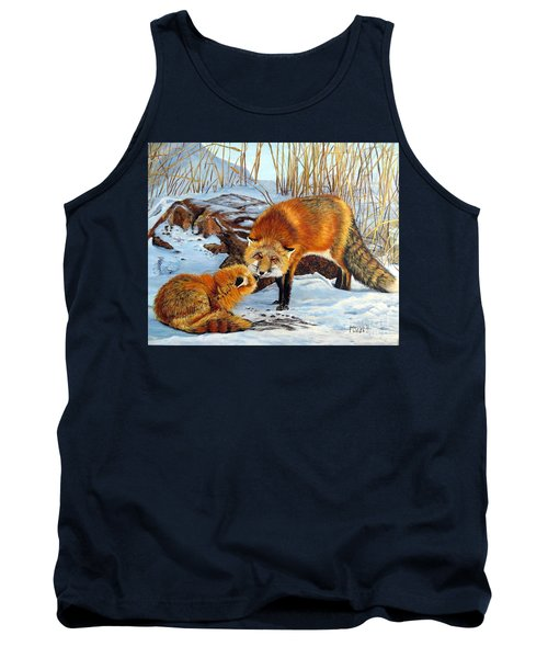 Natures Submission Tank Top by Marilyn McNish