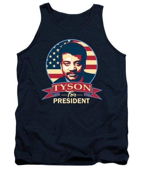 Neil Degrasse Tyson For President Tank Top