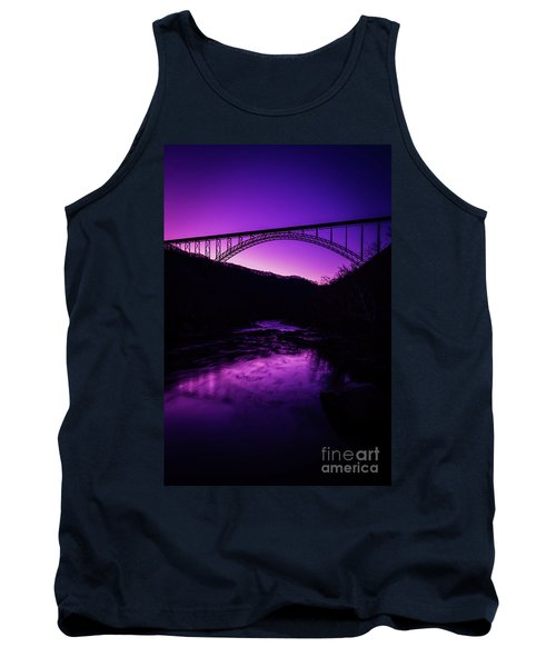 New River Gorge Bridge Afterglow Tank Top