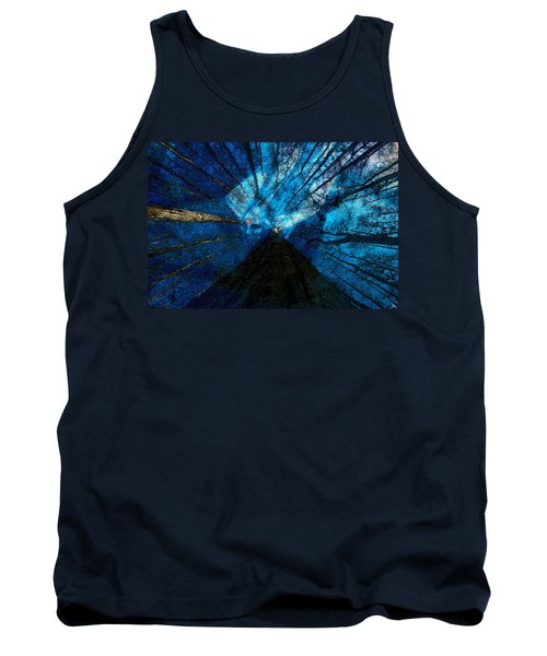Tank Top featuring the painting Night Angel by David Lee Thompson