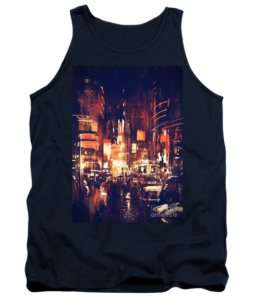 Night Life Tank Top