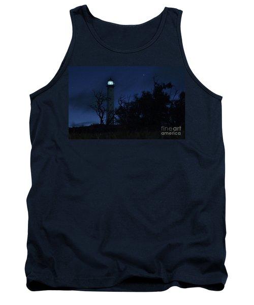 Tank Top featuring the photograph Night Light Kalaupapa by Craig Wood